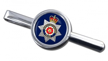 Northamptonshire Police Round Tie Clip