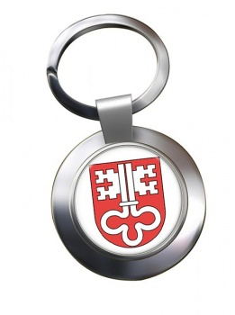 Nidwalden (Switzerland) Metal Key Ring