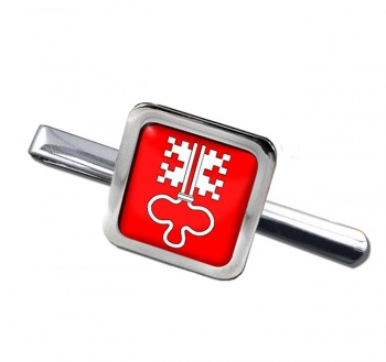 Nidwalden (Switzerland) Square Tie Clip