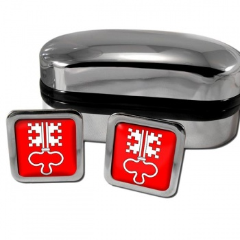 Nidwalden Switzerland Square Cufflinks