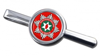 Northern Ireland Fire and Rescue Round Tie Clip