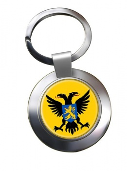 Nijmegen (etherlands) Metal Key Ring