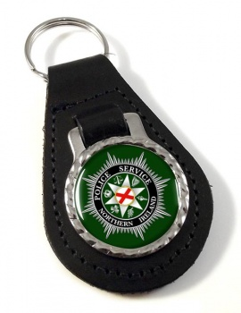 Police Service Northern Ireland Leather Key Fob