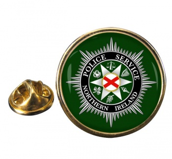Police Service Northern Ireland Round Pin Badge