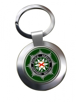 Police Service Northern Ireland Chrome Key Ring