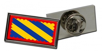 Nivernais (France) Flag Pin Badge