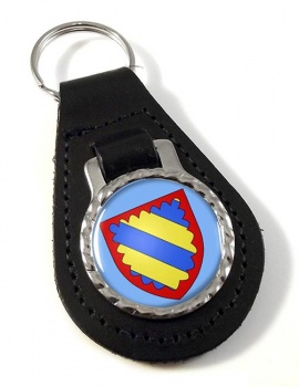 Nivernais (France) Leather Key Fob