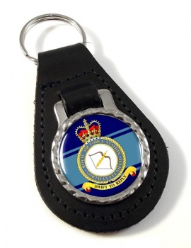 RAF Station North Luffenham Leather Key Fob