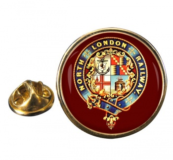 North London Railway Round Lapel