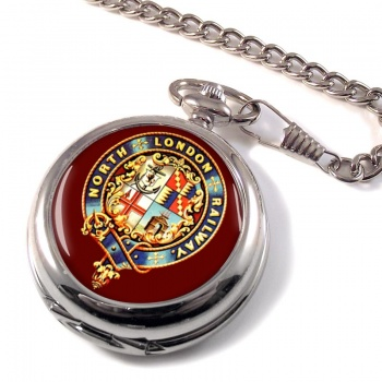 North London Railway Pocket Watch