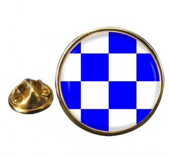 November Negative Distress Flag Round Lapel