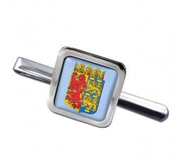 Noord-Holland (Netherlands) Square Tie Clip