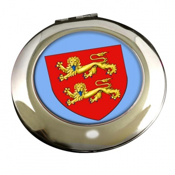 Normandie (France) Round Mirror