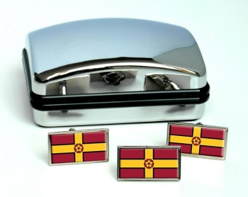 Northamptonshire (England) Flag Cufflink and Tie Pin Set