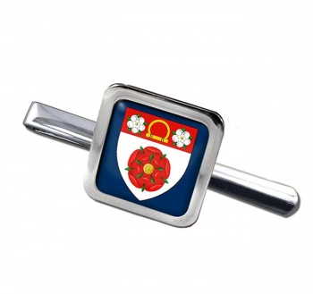 Northamptonshire (England) Square Tie Clip