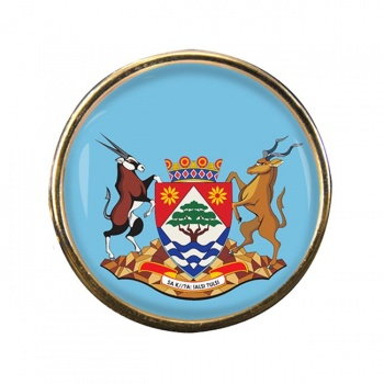 Northern Cape (South Africa) Round Pin Badge