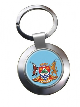Northern Cape (South Africa) Metal Key Ring