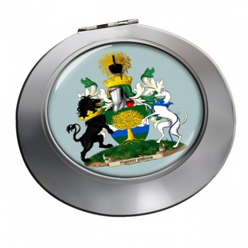 Nottinghamshire (England) Round Mirror
