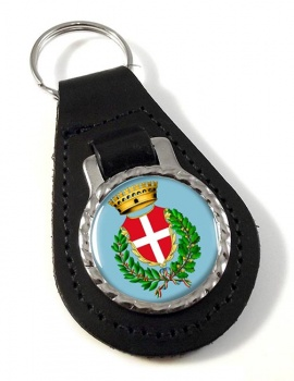 Novara (Italy) Leather Key Fob