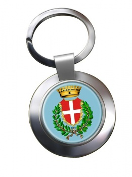 Novara (Italy) Metal Key Ring