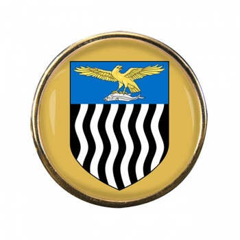 Northern Rhodesia Round Pin Badge