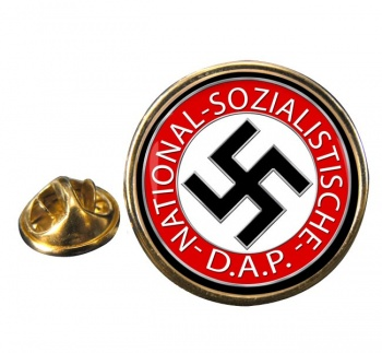 NSDAP Round Pin Badge