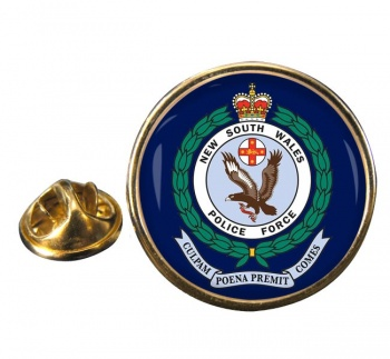 New South Wales Police Round Pin Badge