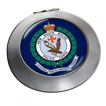 New South Wales Police Chrome Mirror
