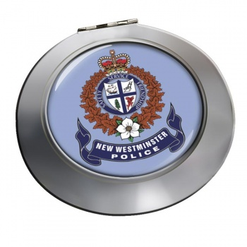 New Westminster Police (Canada) Chrome Mirror