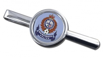 New Westminster Police (Canada) Round Tie Clip
