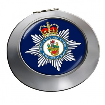 North Wales Police Chrome Mirror
