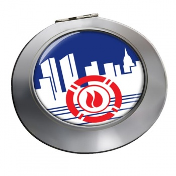 New York City Fire Department Chrome Mirror