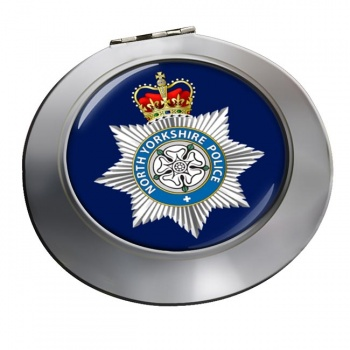 North Yorkshire Police Chrome Mirror