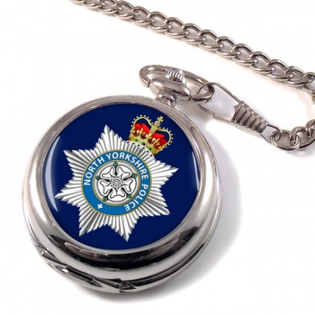 North Yorkshire Police Pocket Watch