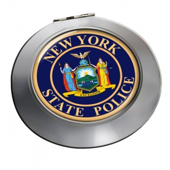 New York State Police Chrome Mirror