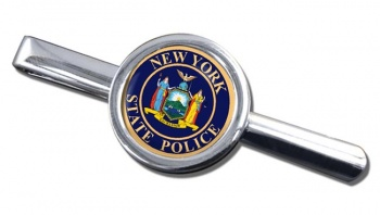 New York State Police Round Tie Clip