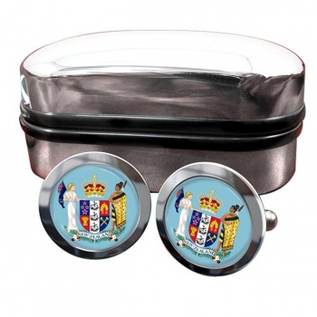 Coat of Arms (New Zealand) Cufflinks