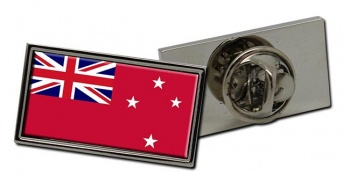 New Zealand Red Ensign Flag Pin Badge
