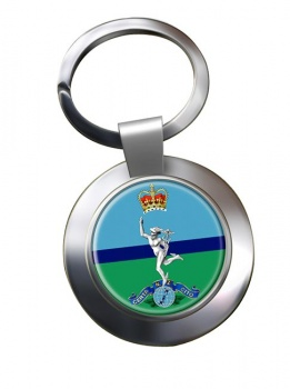 Royal New Zealand Corps of Signals Chrome Key Ring