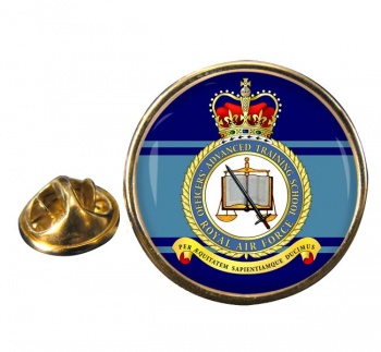 Officers' Advanced Training School (Royal Air Force) Round Pin Badge