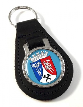 Oberhausen (Germany) Leather Key Fob