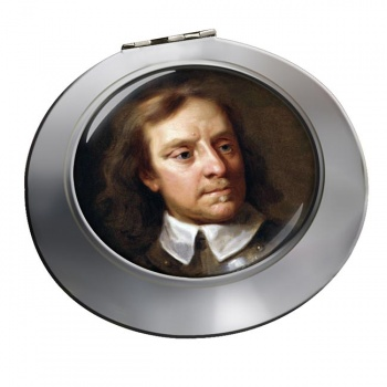 Oliver Cromwell Chrome Mirror