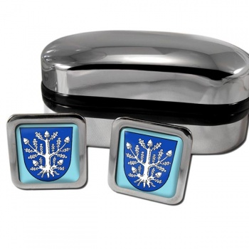 Offenbach am Main Germany Square Cufflinks