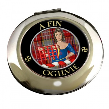 Ogilvie Scottish Clan Chrome Mirror
