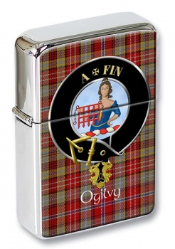 Ogilvy Scottish Clan Flip Top Lighter