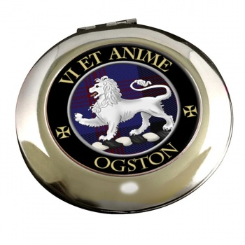 Ogston Scottish Clan Chrome Mirror