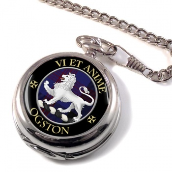 Ogston Scottish Clan Pocket Watch