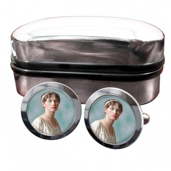 Grand Duchess Olga Nikolaevna of Russia Round Cufflinks