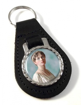 Grand Duchess Olga Nikolaevna of Russia Leather Key Fob