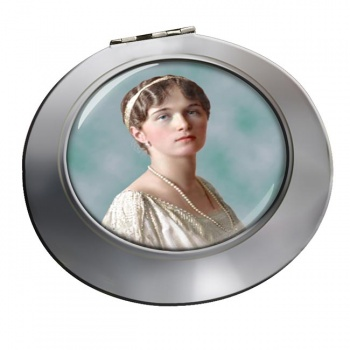 Grand Duchess Olga Nikolaevna of Russia Chrome Mirror